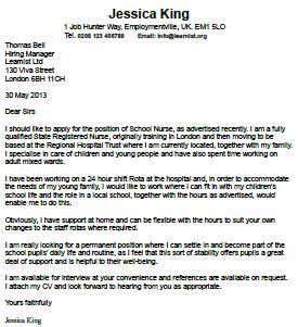 Resume samples cover letter